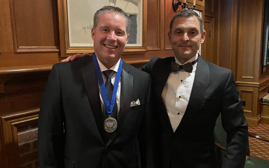 Dr. Nicholas Cheney Receives Award of Fellow from the American Osteopathic Academy of Orthopedics